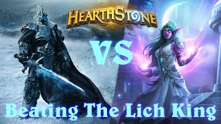 Hearthstone | Beating The Lich King! (Knights of the Frozen Throne Final Wing/Lich King Boss Fight)
