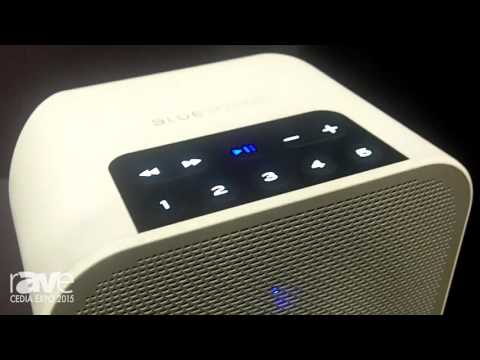 CEDIA 2015: BlueSound Exhibits Its Pulse Flex, A Portable Wireless Streaming Music Player Speaker
