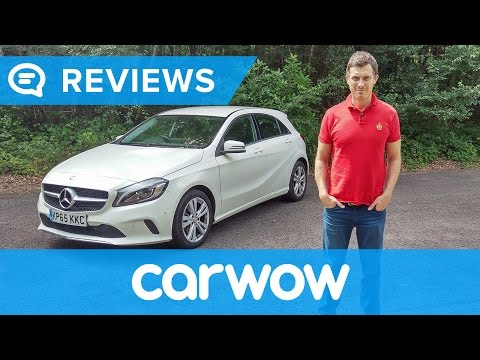 Mercedes A-Class 2017 Hatchback review   Mat Watson Reviews
