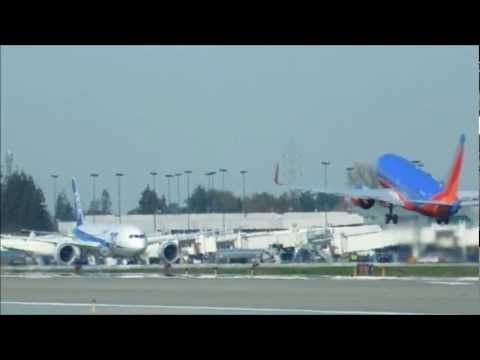 Planespotting at San Jose Airport