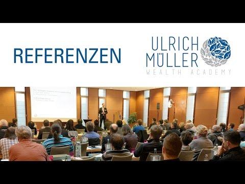 Was Teilnehmer über den Tag der Finanzen und das System der Ulrich Müller Wealth Academy sagen