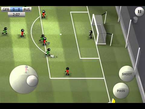 Stickman Soccer - Germany 1 / Russia 0