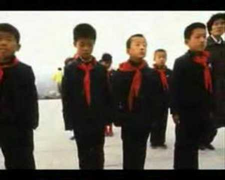Positive and negative tourism commercials for North Korea