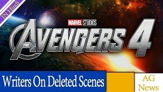 Avengers Infinity War Writers On Deleted Scenes & Avengers 4 AG Media News