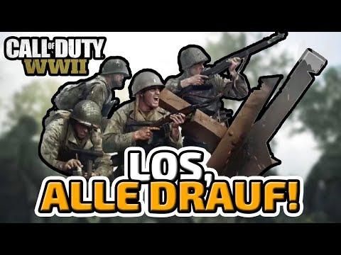 Los, alle drauf! - ♠ Call of Duty: WWII Trouble Town Battle ♠ - Deutsch German - Dhalucard