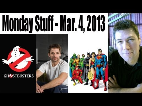 Monday Stuff (Zach Snyder to direct Christian Bale in Justice League, Ghostbusters and more!)
