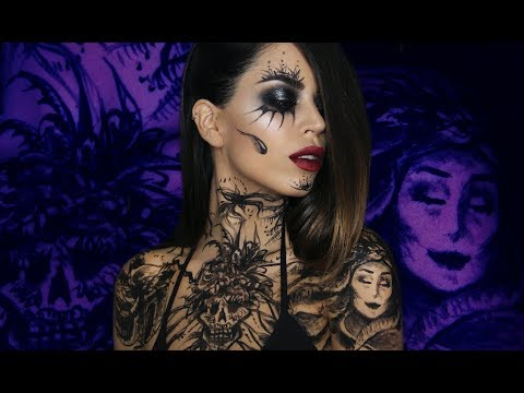 Day Of The Dead Inspired Body Art   Claire Dim