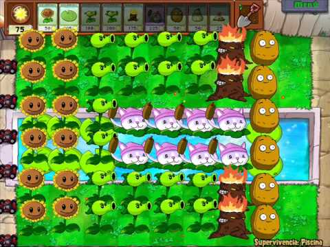 Special PXL ART Plants Vs Zombies (with minigame theme)