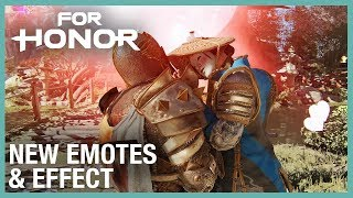 For Honor: New Free Roam Emotes & Effect | Weekly Content Update: 02/13/2020 | Ubisoft [NA]