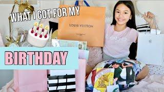 WHAT I GOT FOR MY BIRTHDAY! Bday party VLOG