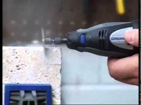 How To Cutting Ceramic Tile Dremel Origo Diy Tools