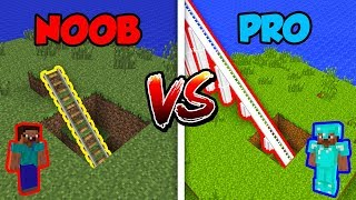 Minecraft NOOB vs. PRO: THEME PARK in Minecraft!
