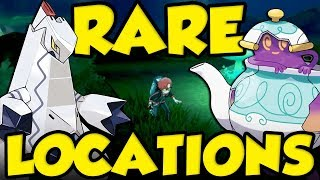 NEW RARE POKEMON LOCATIONS IN POKEMON SWORD AND SHIELD - New Pokemon Location Sword and Shield