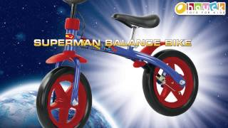 Superman Balance Bike by HAUCK TOYS FOR KIDS