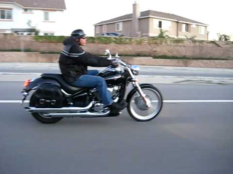 Riding my VULCAN 900 CUSTOM Video