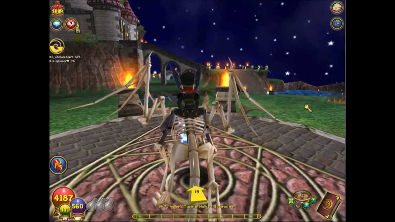 how to get into nightside in wizard101