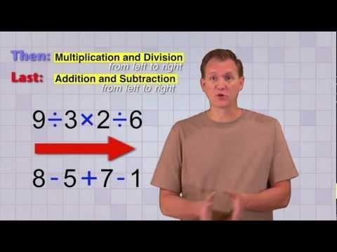 Math Antics - Order Of Operations