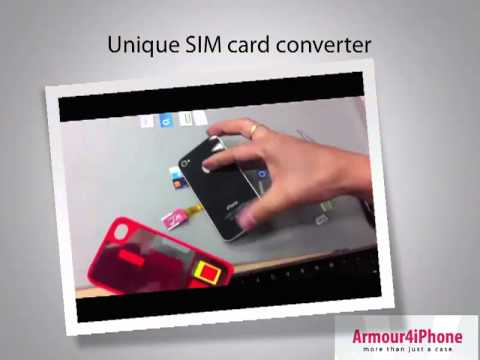 Iphone 4   4s Case With Stand, Micro Sim Card Converter Plus More All In One! video