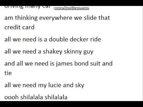 THE NEXT STEP All we need lyrics