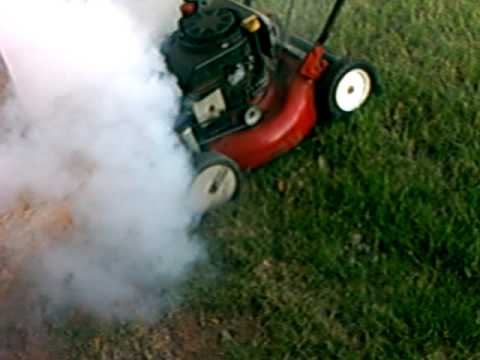 The Incredible Smoking Lawnmower Youtube