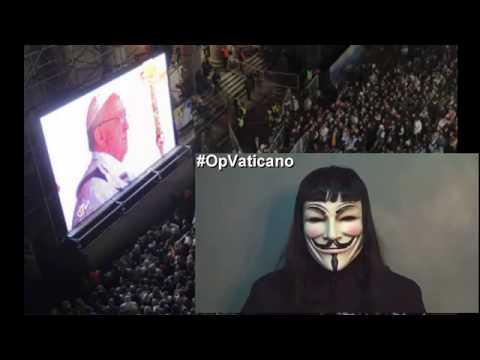 Anonymous amenaza con revelar datos muy comprometedores sobre el Vaticano