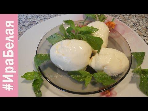 Сыр Моцарелла, простые рецепты