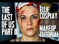 The Last of Us Part II | Ellie Cosplay Makeup Tutorial | PrincessHarv