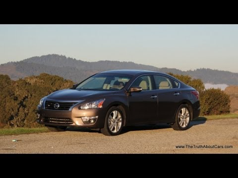 2013 Nissan Altima 3.5 SL Review and Road Test