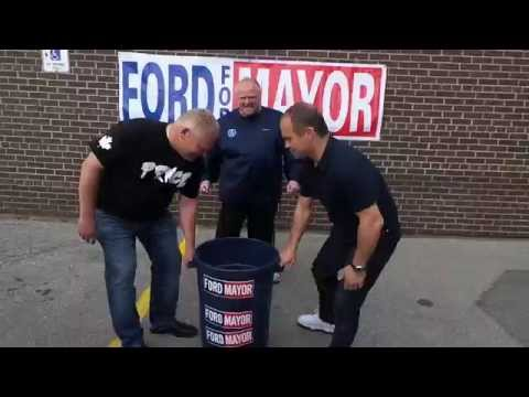 Mayor Rob Ford - Accepts the ALS Ice Bucket Challenge