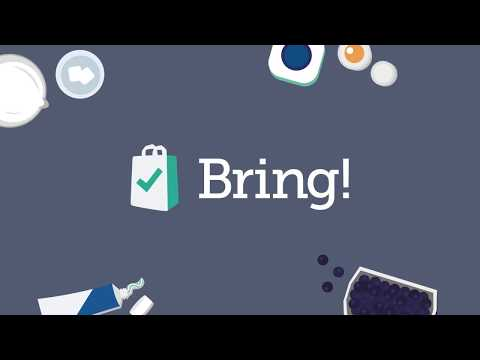 Bring! Grocery Shopping List APK Cover