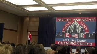 Nathan Dale Irish Dancing North American 2012