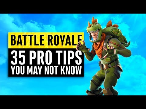 Fortnite Battle Royale | 35 Tips and Tricks from the Professionals