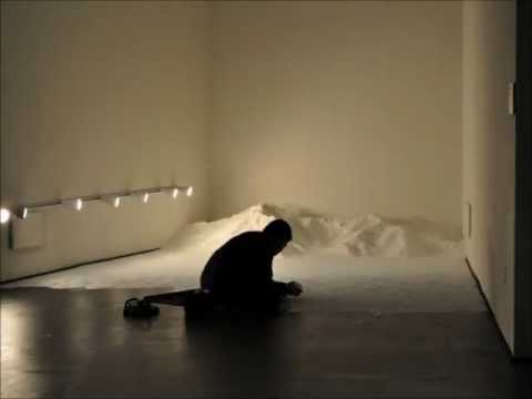 """Labyrinth"" installation by Motoi Yamamoto - timelapse video"