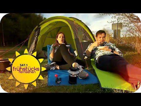 TEUER VS. BILLIG: Camping-Ausrüstung   SAT.1 Frühstücksfernsehen   TV