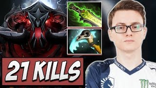 Liquid.Miracle Shadow Fiend with 21 KILLS | Dota Gameplay