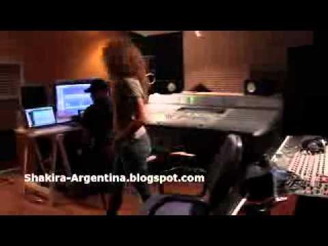 Shakira - Making of Spotlight - Barcelona