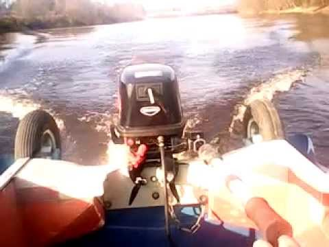 лодка романтика и электромотор