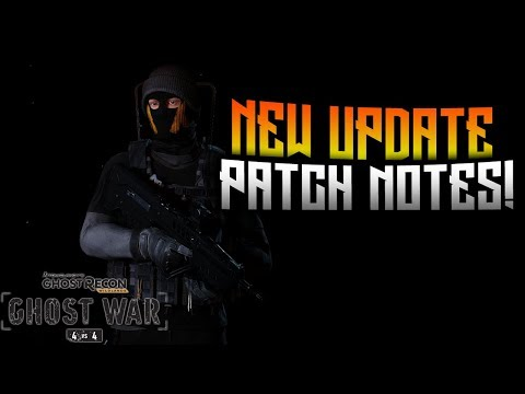 GHOST WAR - NEW Update Patch Notes!