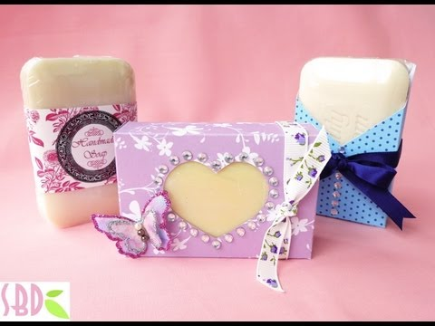 3 Packaging Saponette Handmade - 3 Handmade Soap Packaging
