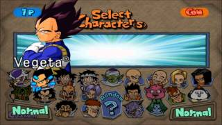 Dragon Ball Z Budokai HD Collection (Budokai 1 All Characters)