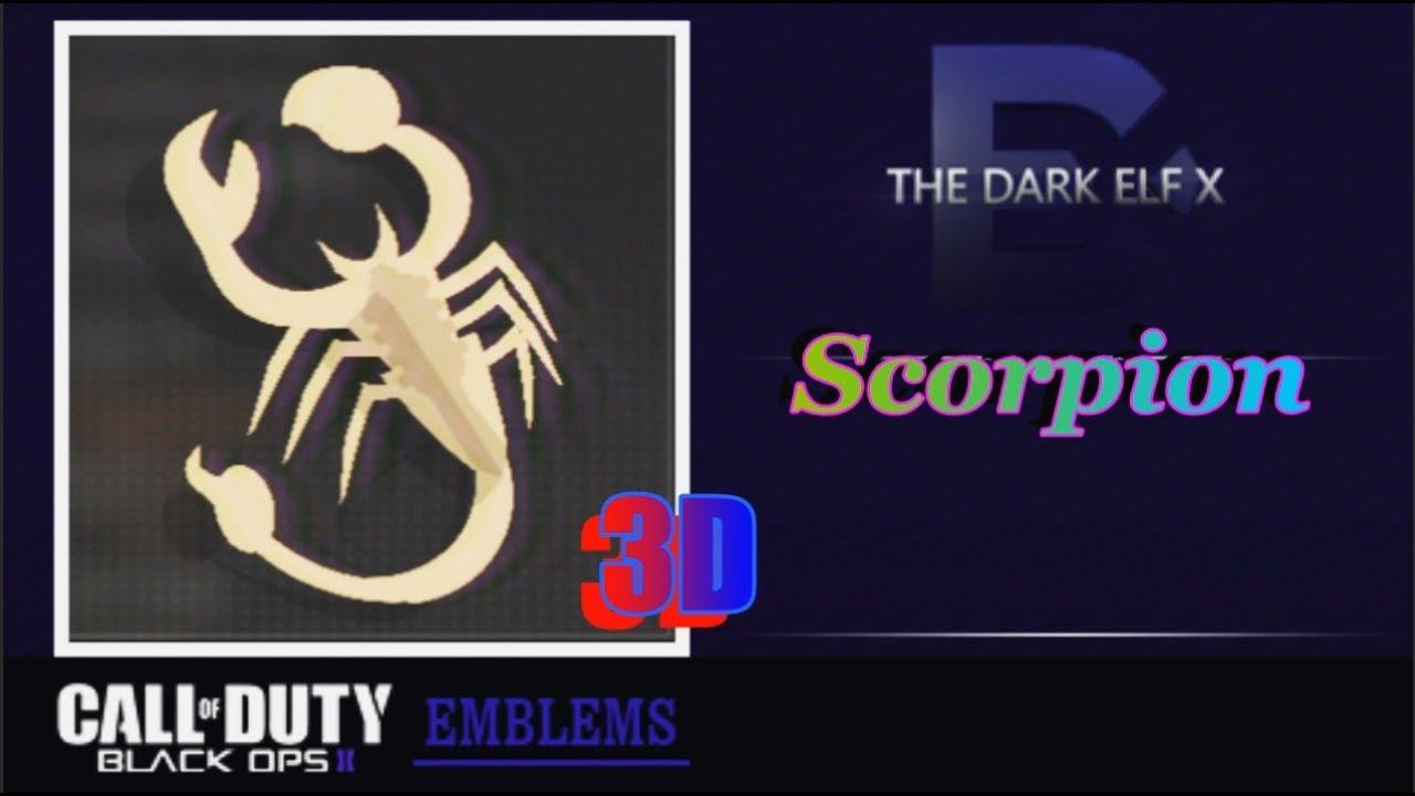 Scorpion Black Ops 2 Emblem Black Ops 2 Emblem Scorpion