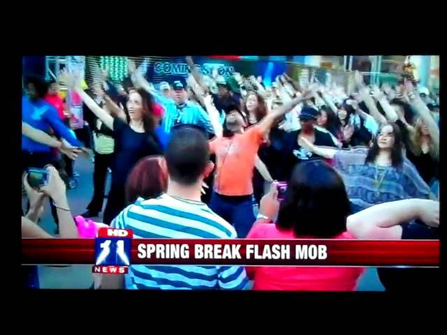 Flash Mob America's Janet Jackson Flash Mob on Fox