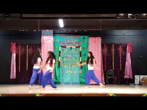 Sridevi tribute, Vachinde & Seeti Maar Dance || Ugadi 2018 - Nandini, Satvi, and Kruthika thumbnail