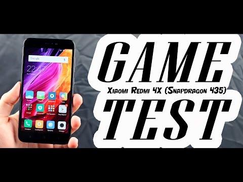 Xiaomi Redmi 4X (Snapdragon 435) - ТЕСТ ИГР С FPS! GAME TEST (FPS - во всех современных играх)