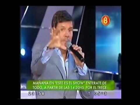 Hernán Piquin en Showmatch 2...