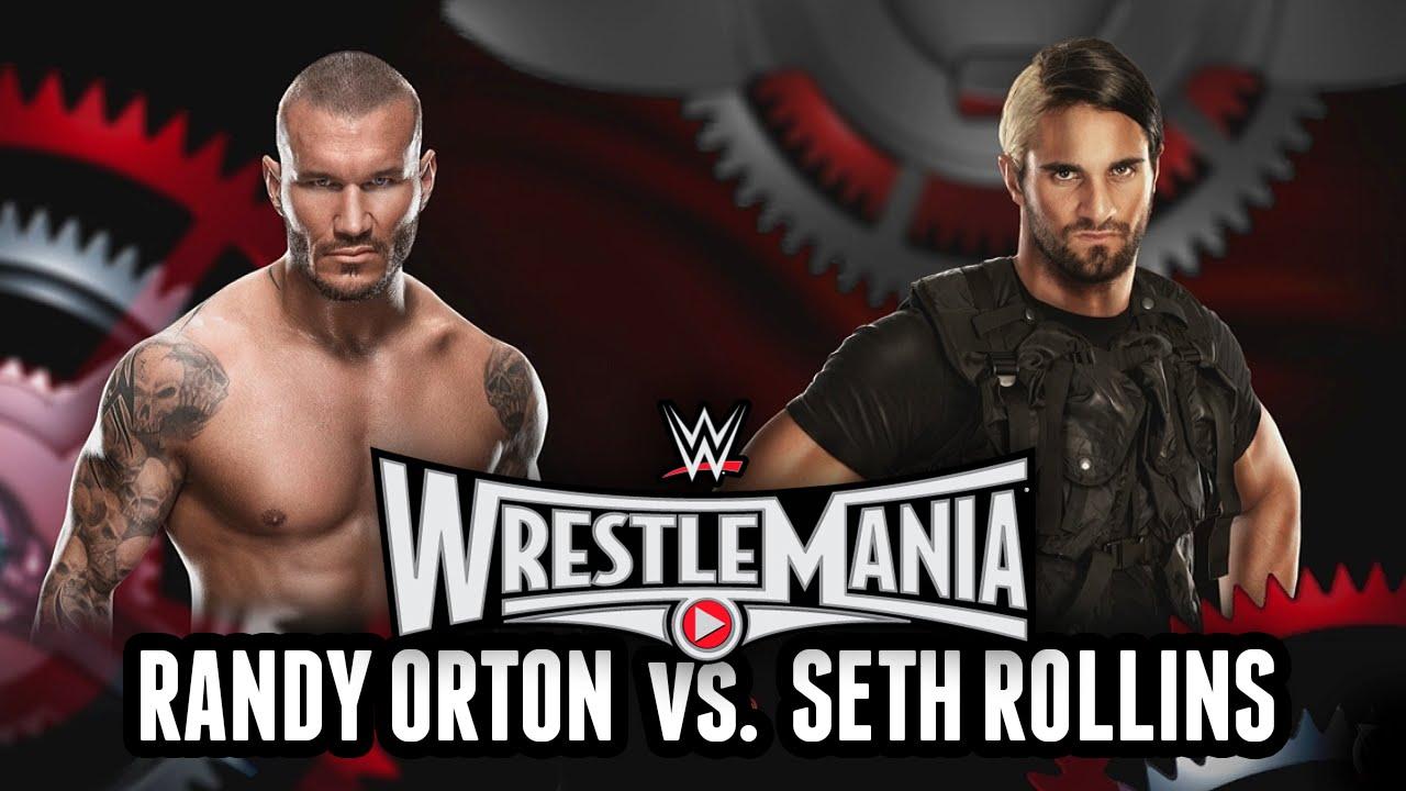 Wwe 2k15 Randy Orton vs Seth Rollins Seth Rollins Wwe 2k15 Match
