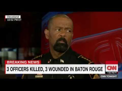 Sheriff David Clarke Crushes Don Lemon Over Hateful Black Lives Matter
