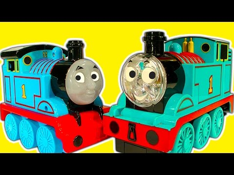 Thomas The Tank Collection 14 Light Up Thomas Vs Thomas RC Chuggington Toy Trains