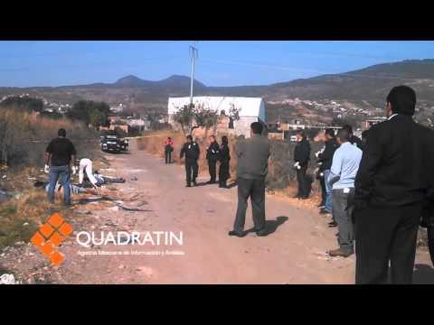 Hallan a 3 personas asesinadas en Morelia