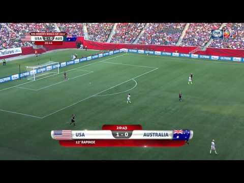 USWNT Australia 2015 Women's World Cup First Half Full Game USA FOX SPORTS